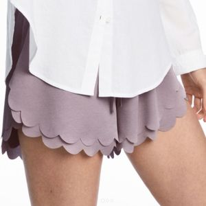 H&M Scallop Hem Shorts